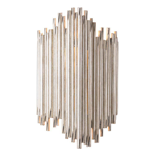 Prescott Champagne 12-Inch Two-Light Wall Sconce