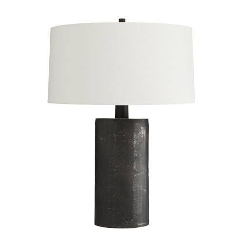 Prague Black One-Light Table Lamp