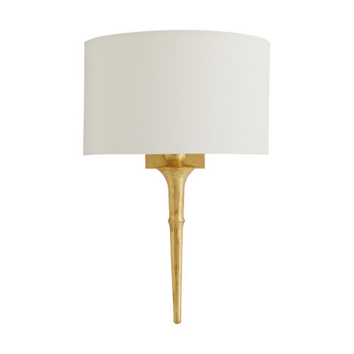 Iyal Gold Leaf One-Light Sconce