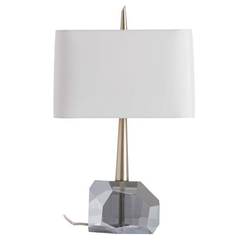 Arteriors Home Gemma Smoke 23-Inch One-Light Table Lamp