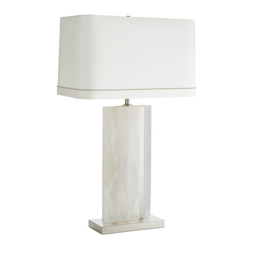 Farrell Vintage Silver One-Light Table Lamp