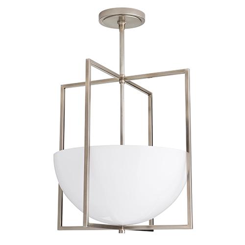 Royce Silver Two-Light Pendant