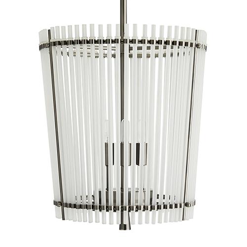 Quentin Silver Four-Light Pendant