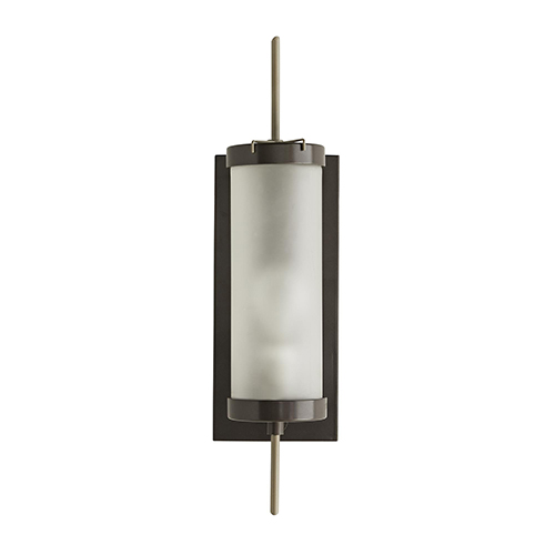 Stefan Gray One-Light Outdoor Wall Sconce
