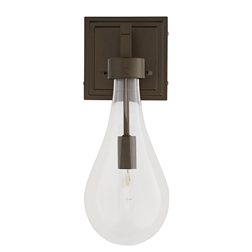 Sabine Brown One-Light Outdoor Wall Sconce