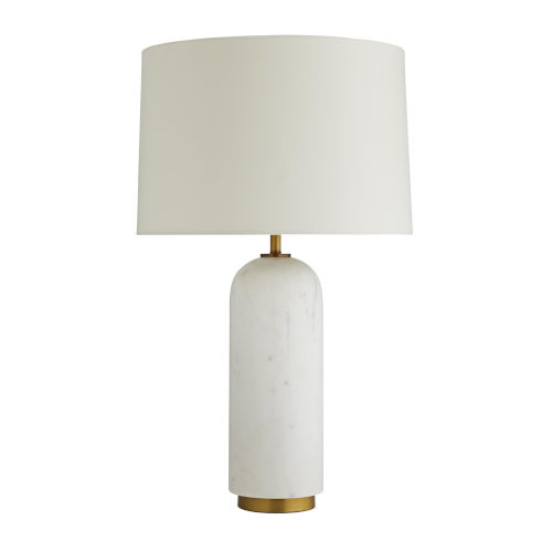 Waterson White One-Light Table Lamp