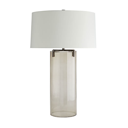 Dale Brown Nickel One-Light Table Lamp