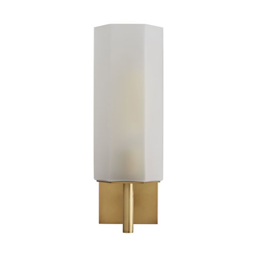 Soloman Frosted One-Light Wall Sconce