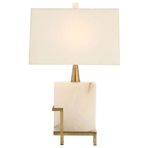 Arteriors Home Herst White 23-Inch One-Light Table Lamp