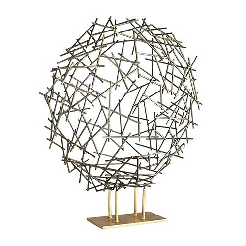 Nix Natural Iron Sculpture