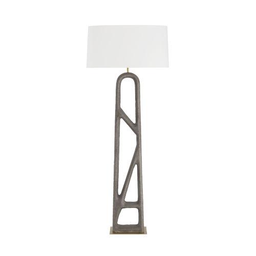 Wilcott White One-Light Floor Lamp
