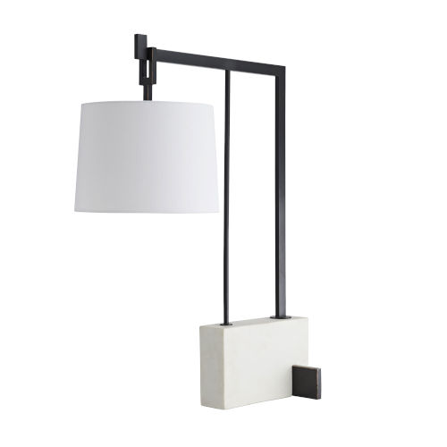 Ray Bronze One-Light Table Lamp