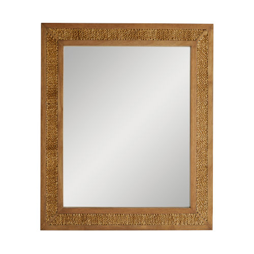 Frank Ponterio Wood Vendee Mirror