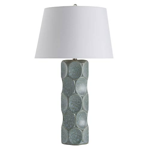 Arteriors Home Gunderson Sky Blue Reactive Glaze One-Light Lamp