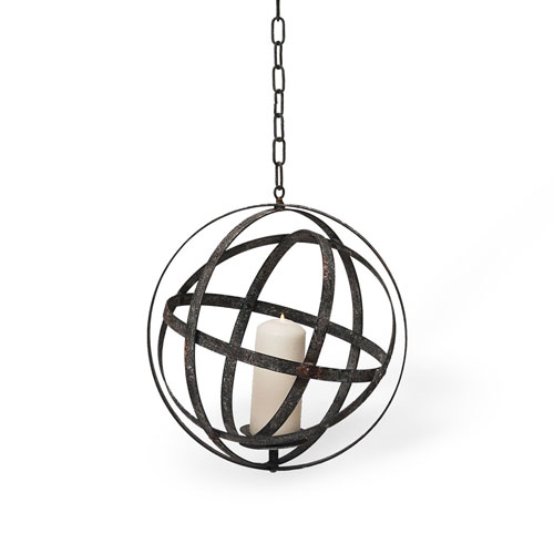 Small Hanging Orb Votive Holder