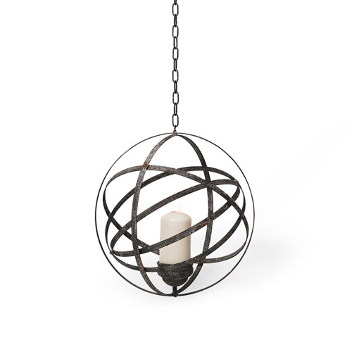 Large Hanging Orb Votive Holder