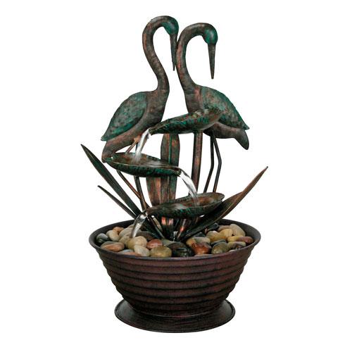 Birds Metal Fountain