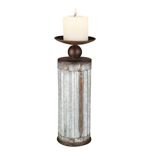 Corrugated Candle Holder