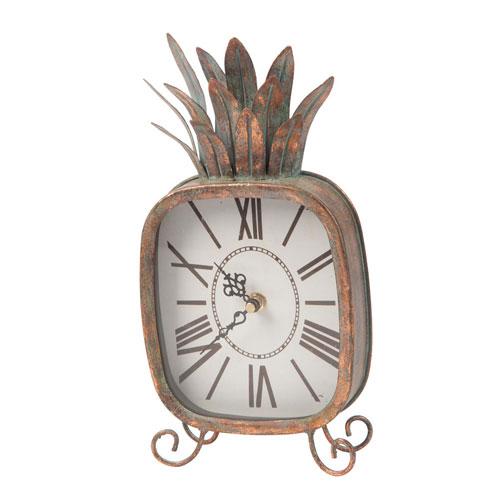 Pineapple Tabletop Clock