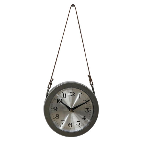 Foreside Home and Garden Naturalist Hanging Wall Clock