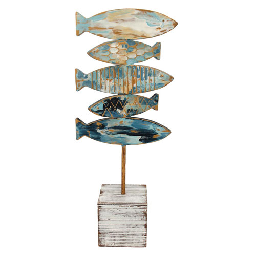 Fish Stack Table Décor