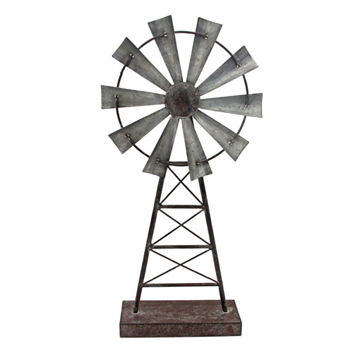 Large Windmill Table Décor