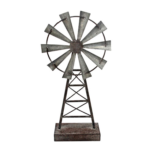 Small Windmill Table Décor