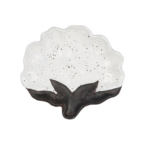 Foreside Home and Garden Cotton Trinket Tray