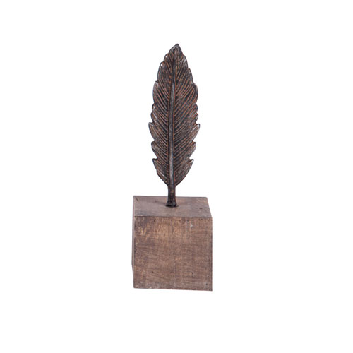 Small Feather on a Stand
