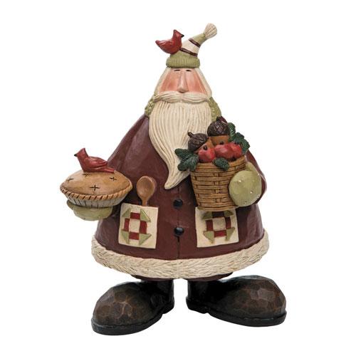 Foreside Home and Garden Williraye Studios Natural Baker Santa