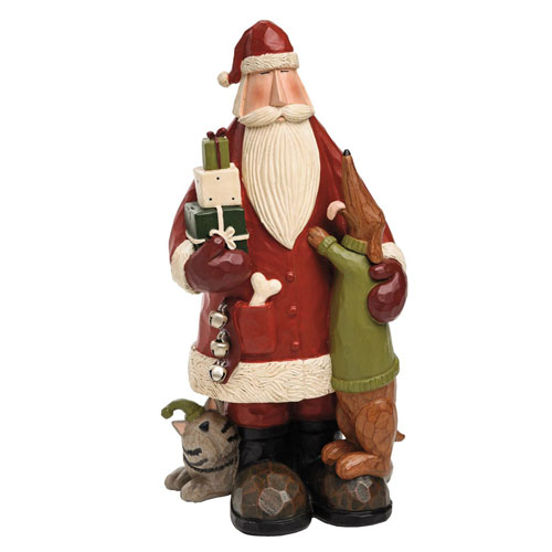 Williraye Studios Santa With Pets