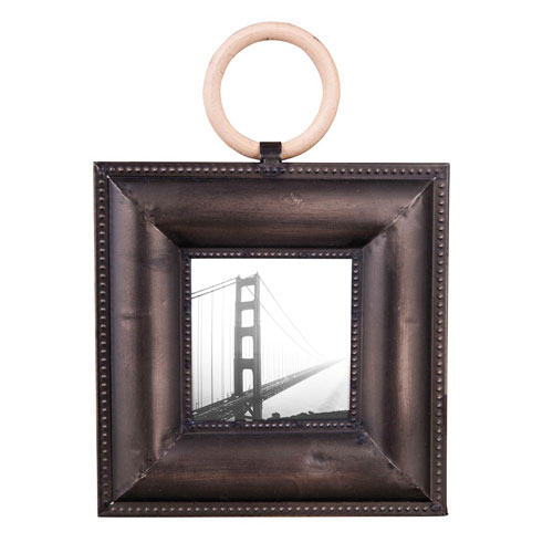 Foreside Home and Garden Large Ring 5 x 7 In. Frame