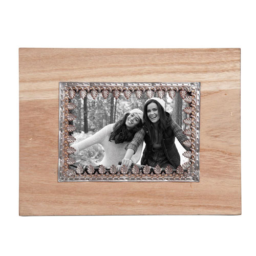Embossed Metal 5 x 7 in. Photo Frame