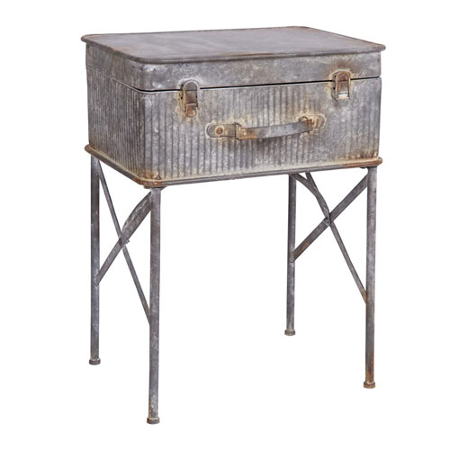 Devon Suitcase Side Table