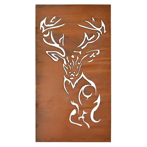 Foreside Home and Garden Deer Wall Art
