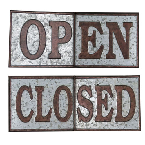 Open or Closed Sign