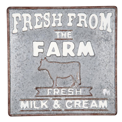 Fresh From The Farm Wall Plaque