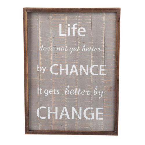 Life And Chance Wall Art