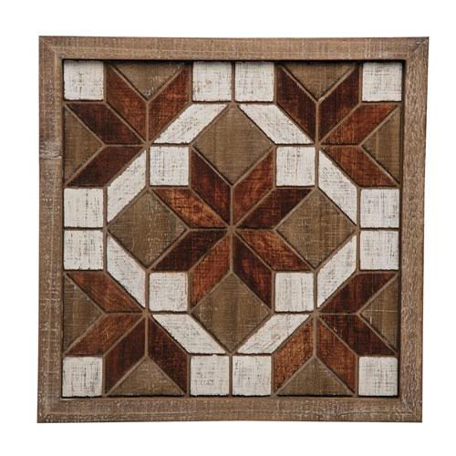 Pattern Quilt Block Wall Art