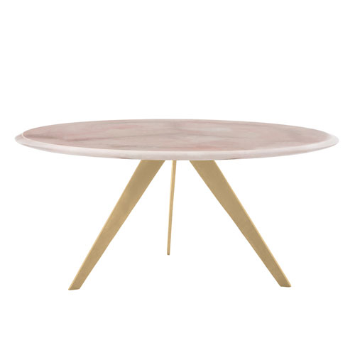 Essex Gold Leaf Cocktail Table