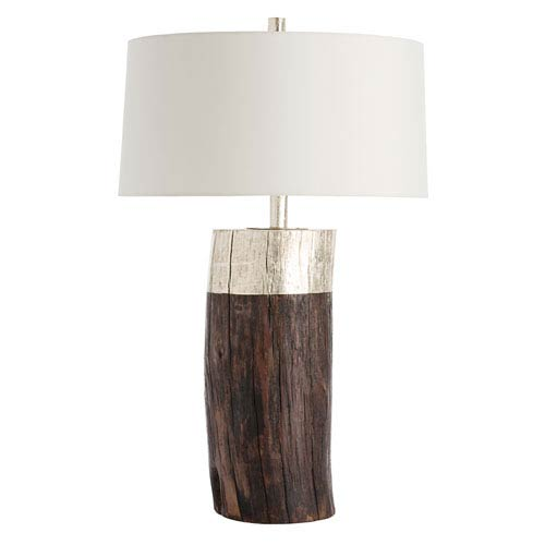 Arteriors Home Emery Silver Leaf One Light Table Lamp