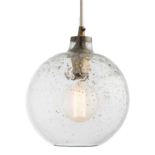 Arteriors Home Monica Sand Infused Glass Pendant