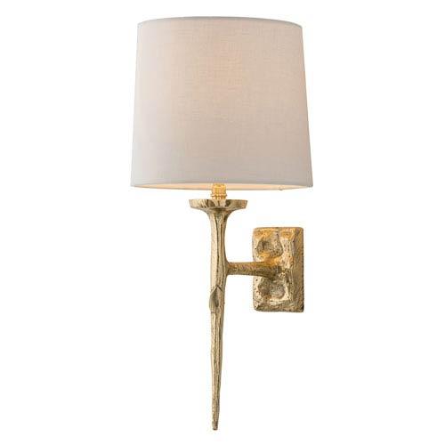Franz Matte Brass One-Light Sconce