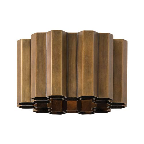Arteriors Home Hive Antique Brass One-Light Sconce
