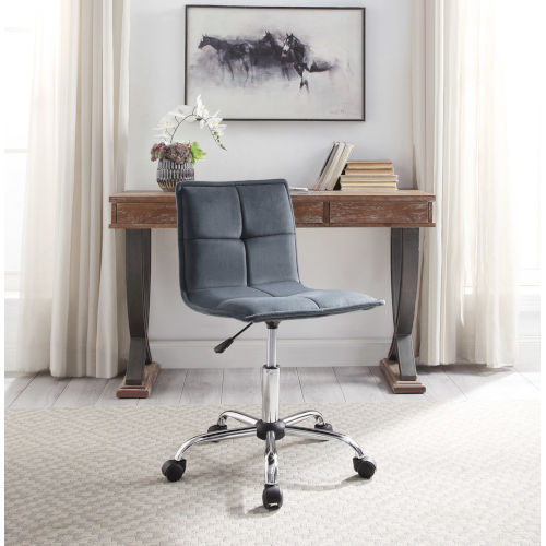 Isabella Silver Office Chair