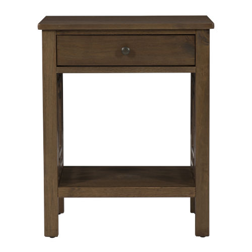 Michael Brown Rustic End Table
