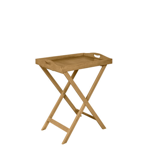 Samuel Brown Oil Removable Tray Table