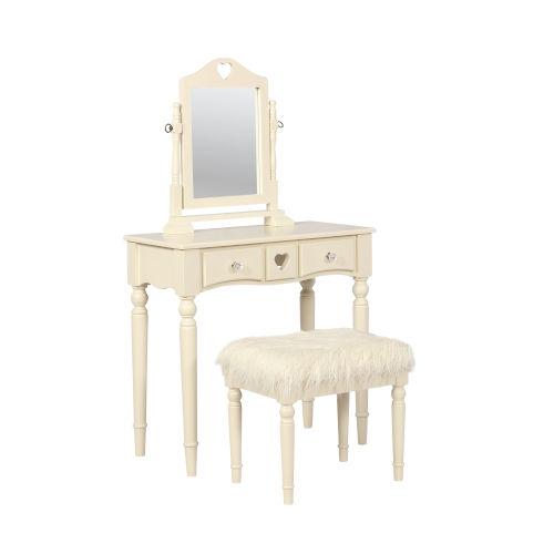 Penelope White Vanity Set