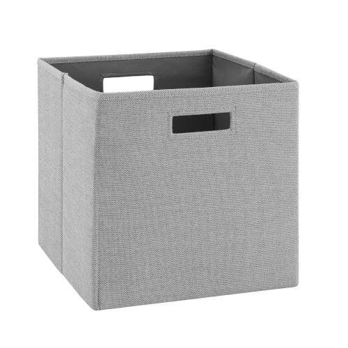 Ellis Grey Storage Bin, Pack of 2
