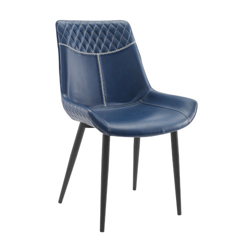 Diego Blue Dining Chairs, Set of 2